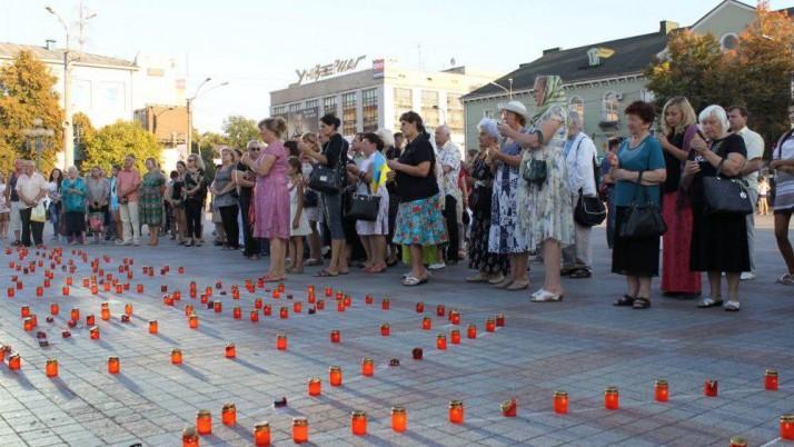 На Рівненщині відбудеться пам'ятний молебень за загиблими під Іловайськом