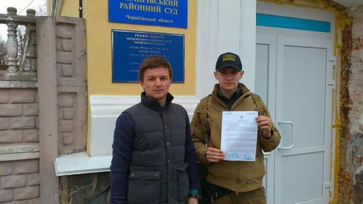 Воїн-доброволець отримав одноразову матеріальну допомогу за ініціативи «Справедливості»