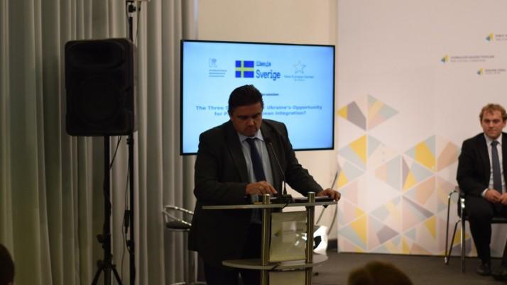 Лубківський: «Ініціатива трьох морів» як частина інтеграції до ЄС і НАТО»