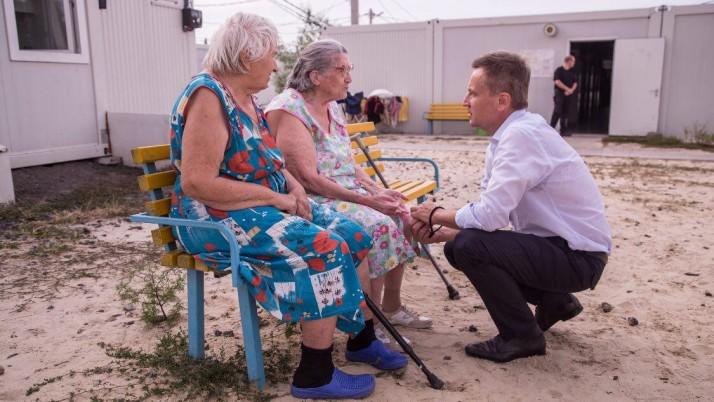 Рух «Справедливість» вимагає від Гройсмана допомогти переселенцям