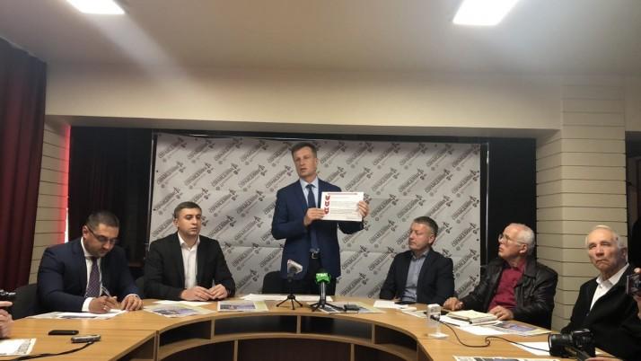 Валентин Наливайченко: «Мій план відновлення миру, як кисень, потрібен Україні!»