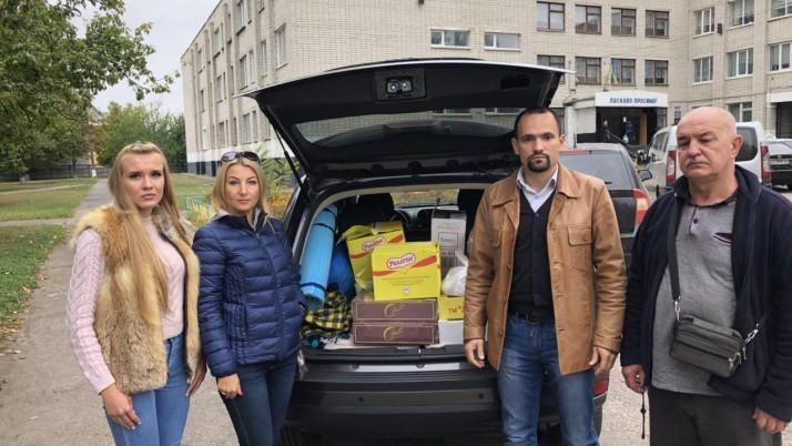 Чернігівська і Ніжинська команди допомагають постраждалим у зоні катастрофи