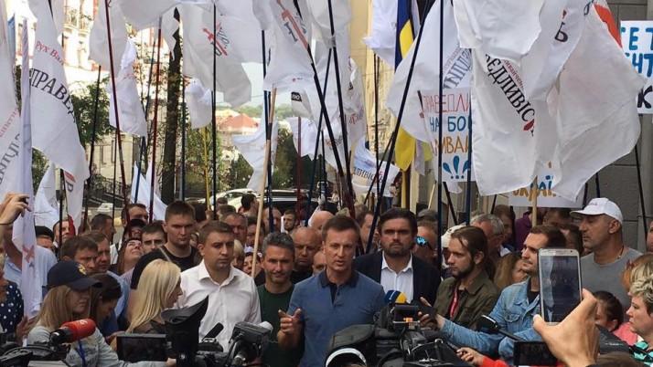Валентин Наливайченко: «Рух «Справедливість» прагне об'єднання з однодумцями»