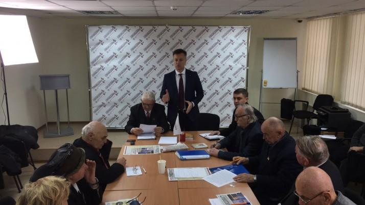 Валентин Наливайченко зустрівся з представниками всеукраїнської ГО «Діти війни»