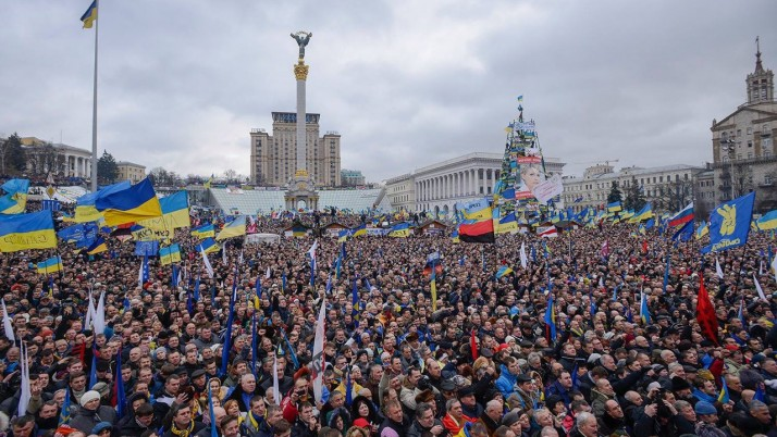 Річниця Майдану. Пам'ятаємо. Боротьба триває!