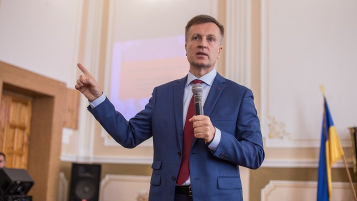 Валентин Наливайченко відвідав Бережанський інститут на Тернопільщині