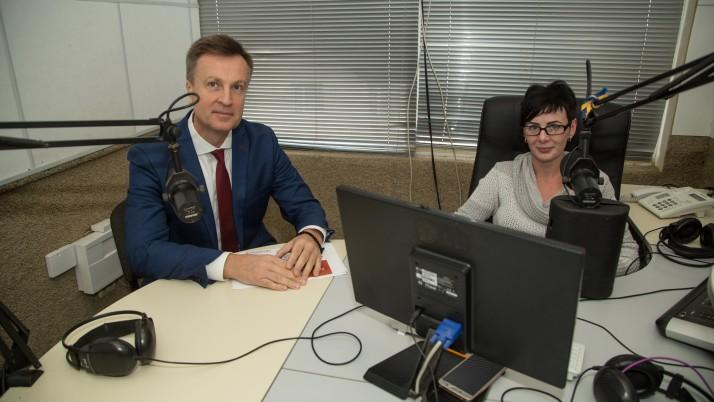 Валентин Наливайченко на Хмельниччині!