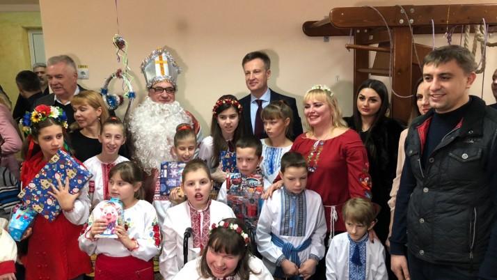 Наливайченко: «Щасливі очі дітей – найцінніша нагорода»