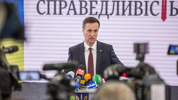 В основі моєї президентської програми — безпека і спокій громадян, — Наливайченко
