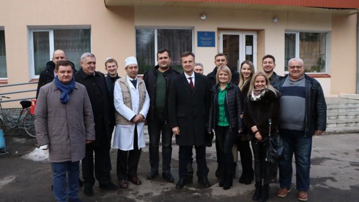 Валентин Наливайченко відвідав Млинівську лікарню на Рівненщині (відео)