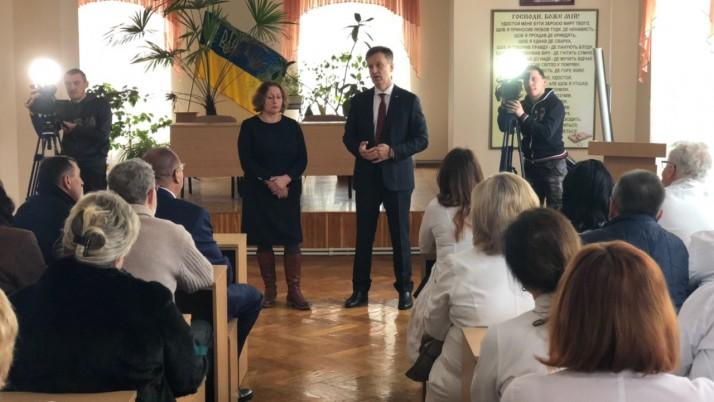 Наливайченко у Львівській обласній лікарні: «Забезпечимо фінансування медицини!»