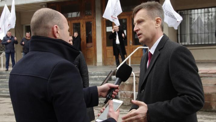 «Винні у вбивстві Катерини Гандзюк повинні бути покарані», — Наливайченко у Тернополі