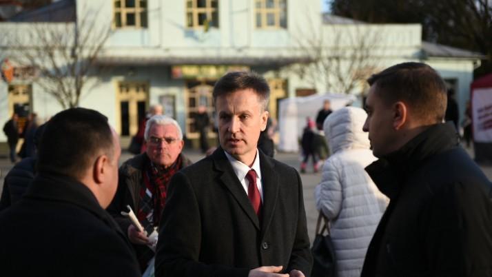 Наливайченко на Закарпатті: «Залякування від влади не зупинять наш рух уперед!»