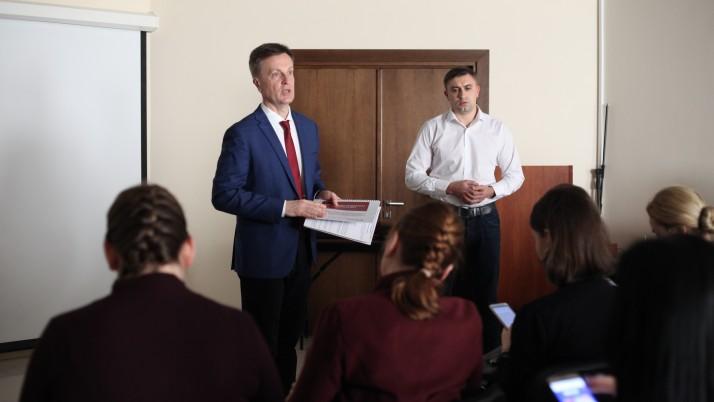 Валентин Наливайченко презентував в Івано-Франківську свою президентську програму