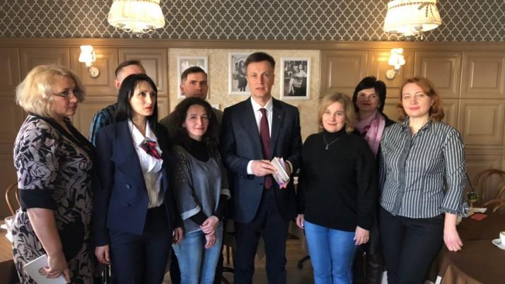 Наливайченко в Івано-Франківську: Українська мова буде захищеною та профінансованою!