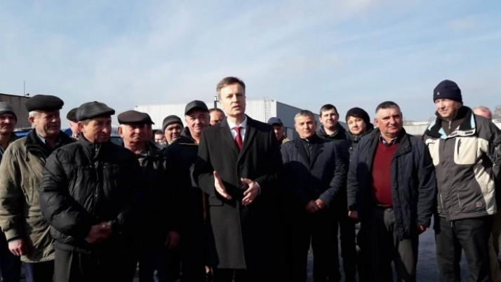 Наливайченко в Рівному: «Українські дороги можуть бути кращими, ніж у Європі!»