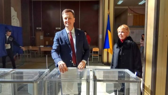 «За справедливу країну»: Наливайченко проголосував на виборах президента