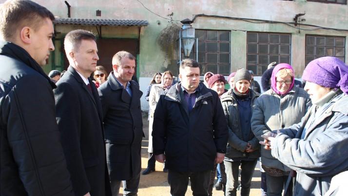 Наливайченко у Франківську: Підприємствам — замовлення, людям праці — гідне життя!