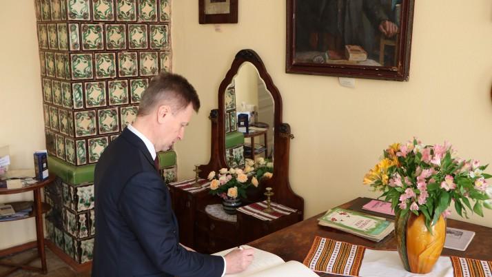 Наливайченко: «Іван Франко заслуговує на повноцінний музей і гідний пам'ятник у Києві»