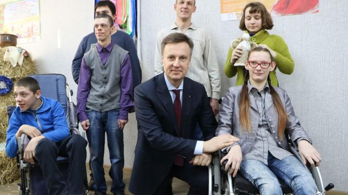 Наливайченко в Кропивницькому: «Захищу українських дітей і дбатиму про наші сім'ї!»