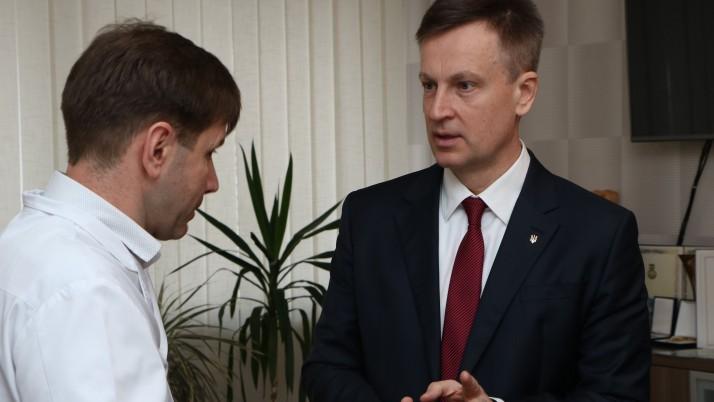 Наливайченко в Чернігові: Поверну громадянам безпеку, справедливість та якісну медицину!