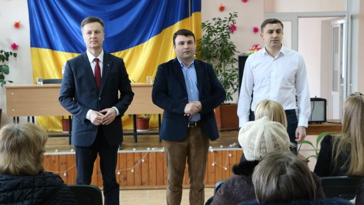 Влада має бути в руках народу! — Наливайченко на Чернігівщині