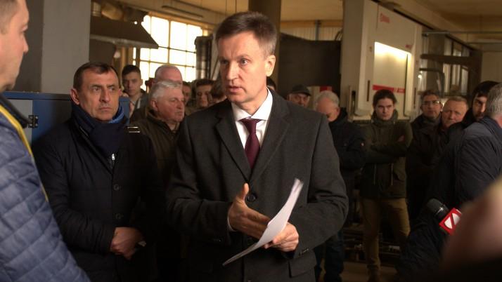 Наливайченко у Львові: «Йду в президенти, щоб повернути владу людям!»