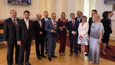 Керівник «Справедливості» Закарпаття Володимир Чубірко отримав високу нагороду від Чеської Республіки